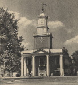 Sussex County Courthouse in Georgetown, early 20th century