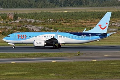 TUI fly Nordic Boeing 737 MAX 8