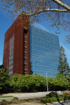 Santa Clara County Government Center in Central San Jose.