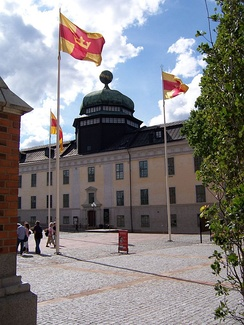 Gustavianum, The Swedish Uppsala University built 1622–1625 and now a museum, was one of the pioneers in formal legal education