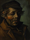 Vincent van Gogh, Head of a Peasant, 1884