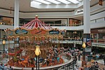 The carousel and food court at Fox Valley Mall, opened 1975.