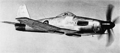 A Wyvern prototype with the Rolls-Royce Eagle piston engine