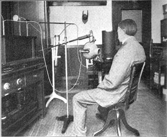 X-ray treatment of tuberculosis in 1910. Before the 1920s, the hazards of radiation were not understood, and it was used to treat a wide range of diseases.