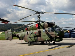The air force operates the Kamov Ka-32A4s helicopter for  CSAR