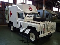 1963 series-IIA ambulance, United Nations