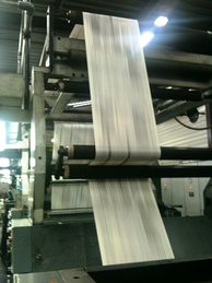Newspaper press in Limoges, France