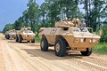 United States Army National Guard M1117 Armored Security Vehicles