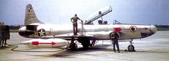 2d Fighter-Interceptor Squadron Lockheed F-94A