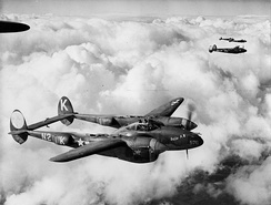 "Lockheed P-38J-10-LO Lightning Serial 42-67978 ""Betty A"" of the 383d Fighter Squadron"