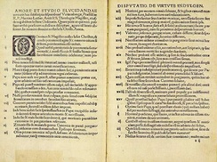 The Ninety-Five Theses of German monk Martin Luther, which criticized the Catholic Church