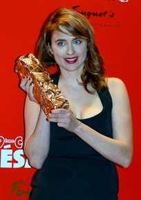 Adèle Haenel, Best Supporting Actress winner.