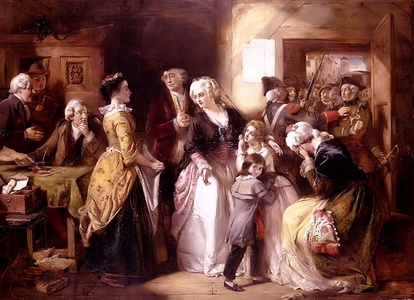 The King and his family are recognized and arrested at Varennes (June 21, 1791)