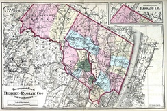 Bergen and Passaic counties, 1872.
