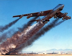 B-47 rocket-assisted take off
