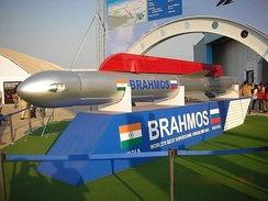 Indian Supersonic cruise missile BrahMos.