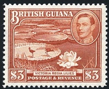 Stamp with portrait of King George VI, 1938