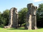 Remains of Burscough Priory