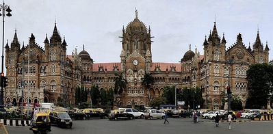 Chhatrapati Shivaji Terminus (formerly Victoria Terminus), in Mumbai, India