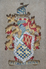 The Arms of the former Hove Borough on Hove Town Hall.