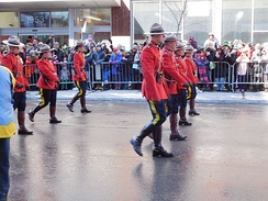 RCMP at Montreal St. Patrick's Day Parade 2017