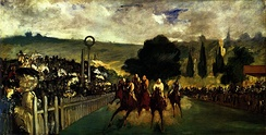 The Races at Longchamp, 1864