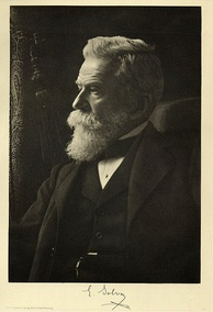 Ernest Solvay, patented an improved industrial method for the manufacture of soda ash.