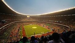 The Estadio Azteca, regarded as one of the iconic football stadiums in the world, hosted the 1970 and 1986 World Cup finals and was the main venue of the 1968 Summer Olympics.