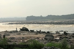 Down at the banks of the Congo River in Ngaliema commune.