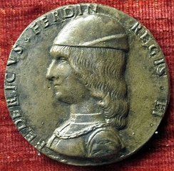 Coin with the image of Frederick