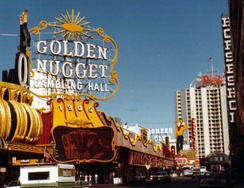 Sinatra signed a $16 million three-year deal with the Golden Nugget Las Vegas in 1982