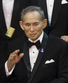 King Bhumibol Adulyadej in September 2010