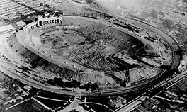 The Coliseum under construction in 1922