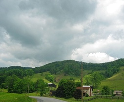 Lee County landscape near Pennington Gap