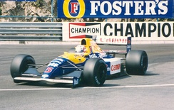 Nigel Mansell was Senna's closest challenger, winning five races and eventually finishing second in the championship.