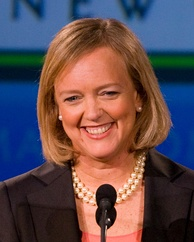 Meg Whitman, current HP and former eBay CEO