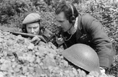 British Mobile Fighter Controllers operating during World War II