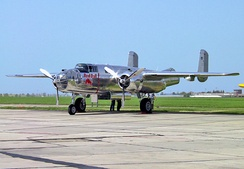 B-25J 44-86893 of the Flying Bulls in Austria