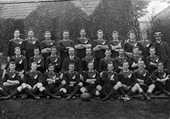 The Original All Blacks that toured the British Isles, France and the United States during 1905–06. The team won 34 of their 35 tour matches.