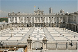 Royal Palace of Madrid, built in 1764.