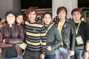 Peterpan, one of Indonesia's popular bands