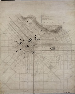 Plan of Griffith, 1914
