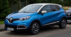 The Renault Captur is the best seller SUV in Europe[72] since its first commercialization month in 2013.[73]