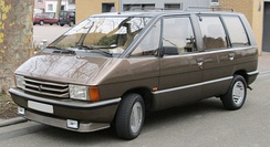 Renault Espace, one of the first true minivans