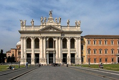 The Patriarchal Cathedral of St. John Lateran, Rome.
