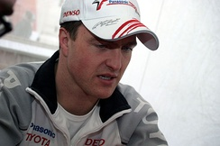 After competing in the sport for ten years, Ralf Schumacher did not take part in the 2008 season. He was replaced at Toyota by 2007 GP2 Champion, Timo Glock.