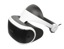 The PlayStation VR, a 2016 virtual reality headset exclusively for the PlayStation 4 console