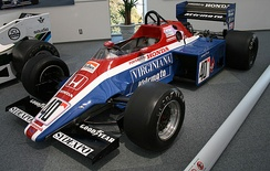 Spirit's first Formula One chassis, the 201C.