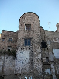 "The ""Tower del Ángel"" formed part of the Muslim Walls of Valencia"