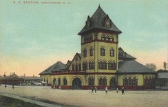 Manchester Union Station, c. 1910